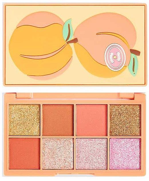 Lidschattenpalette - I Heart Revolution Mini Tasty Peach Eyeshadow Palette
