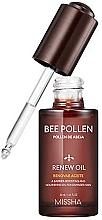 Düfte, Parfümerie und Kosmetik Pflegendes Gesichtsöl für geschädigte Haut mit Bienenpollenextrakt - Missha Bee Pollen Renew Oil