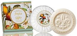 Düfte, Parfümerie und Kosmetik Naturseife Fruit & Lily - Saponificio Artigianale Fiorentino Fruit & Lily Soap Argentario Collection