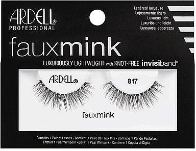 Künstliche Wimpern - Ardell Faux Mink Luxuriously Lightweight 817