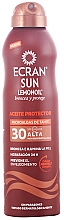 Düfte, Parfümerie und Kosmetik Sonnenschutzspray mit Zitronenöl SPF 30 - Ecran Sun Lemonoil Oil Spray SPF30