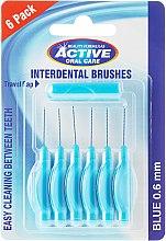 Düfte, Parfümerie und Kosmetik Interdentalzahnbürsten 0,6 mm 6 St. - Beauty Formulas Active Oral Care Interdental Brushes Blue