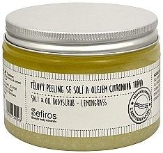 Düfte, Parfümerie und Kosmetik Körperpeeling mit Meersalz und Zitronengrasöl - Sefiros Lemongrass Body Scrub