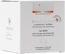 Düfte, Parfümerie und Kosmetik Lippenbalsam mit Orange und Immortelle - Nikel Lip Balm