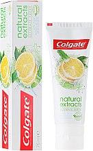 Düfte, Parfümerie und Kosmetik Zahnpasta Ultimate Fresh Lemon - Colgate Natural Extracts Ultimate Fresh Lemon