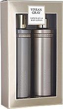 Düfte, Parfümerie und Kosmetik Set - Vivian Gray Brown Crystals Set (sh/gel/250ml + b/lot/250ml)