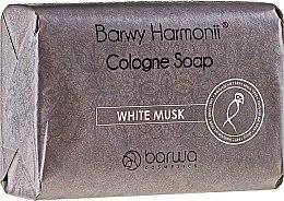 Düfte, Parfümerie und Kosmetik Feinseife mit ätherischem Moschusöl für glättende Haut - Barwa Harmony White Musk Soap