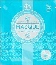 Düfte, Parfümerie und Kosmetik Intensiv feuchtigkeitsspendende Tuchmaske mit Minzextrakt - Peggy Sage Ultra-moisturizing Mask
