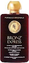 Düfte, Parfümerie und Kosmetik Selbstbräunungslotion für Körper und Gesicht - Academie Bronz'Express Lotion