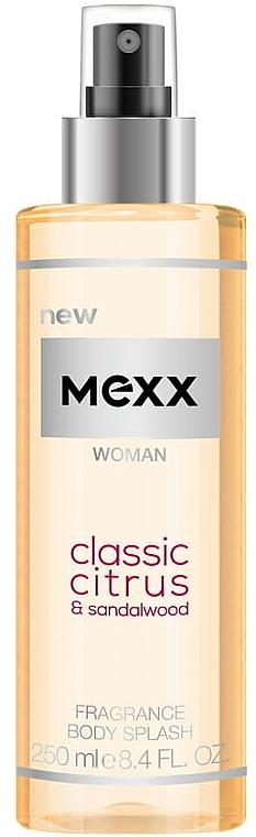 Mexx Woman Classic Citrus & Sandalwood Body Splash - Körperspray