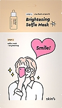 Düfte, Parfümerie und Kosmetik Zweistufige Tuchmaske mit aufhellendem Effekt für das Gesicht - Skin79 Brightening Selfie Mask