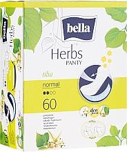 Düfte, Parfümerie und Kosmetik Slipeinlagen Panty Herbs Tilia 60 St. - Bella