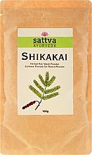 Düfte, Parfümerie und Kosmetik Ayurvedisches Haarpulver Shikakai - Sattva