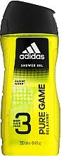Düfte, Parfümerie und Kosmetik Duschgel für Männer - Adidas Pure Game Hair & Body Shower Gel