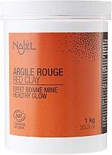Düfte, Parfümerie und Kosmetik Rote kosmetische Tonerde - Najel Red Clay For Healthy Glow