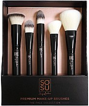 Düfte, Parfümerie und Kosmetik Make-up Pinselset 5-tlg. - Sosu by SJ Premium Makeup Brushes