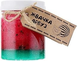 Düfte, Parfümerie und Kosmetik Körperpeeling mit Gummikonsistenz und Wassermelonenduft - Dushka