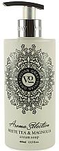 Düfte, Parfümerie und Kosmetik Flüssige Creme-Seife mit weißem Tee und Magnolie - Vivian Gray Aroma Selection White Tea & Magnolia Cream Soap