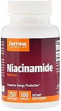 Düfte, Parfümerie und Kosmetik Nahrungsergänzungsmittel Niacinamid - Jarrow Formulas Niacinamide, Flush Free, 250 mg