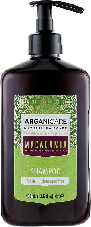 Revitalisierendes Shampoo mit Arganöl und Macadamia - Arganicare Macadamia Shampoo