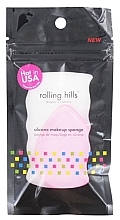Düfte, Parfümerie und Kosmetik Silikon-Make-up-Schwamm rosa - Rolling Hills Silicone Makeup Sponge Pink