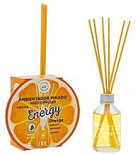 Düfte, Parfümerie und Kosmetik Aroma-Diffusor mit Duftstäbchen Energie - La Casa de Los Aromas Energy Reed Diffuser