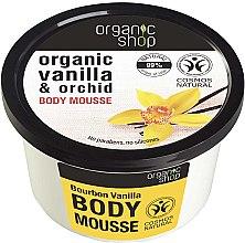 Düfte, Parfümerie und Kosmetik Körpermousse mit Bio Vanille und Orchideen - Organic Shop Body Mousse Organic Vanilla & Orchid