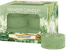 Düfte, Parfümerie und Kosmetik Teelichter Afternoon Escape - Yankee Candle Afternoon Escape Tealights