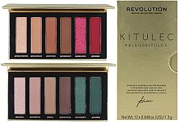 Düfte, Parfümerie und Kosmetik Make-up Set (Lidschattenpalette 2x7.8g) - Makeup Revolution Kitulec #BlendKitulca Shadow Palette