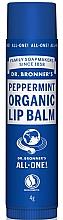 Düfte, Parfümerie und Kosmetik Schützender, pflegender und feuchtigkeitsspendender Lippenbalsam mit Pfefferminze - Dr. Bronner's Peppermint Lip Balm
