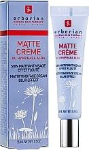 Düfte, Parfümerie und Kosmetik Mattierende Gesichtscreme mit weißer Seerose-Extrakt - Erborian Matt Cream