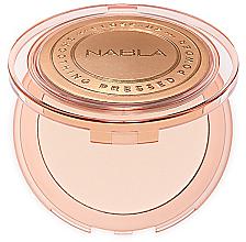 Düfte, Parfümerie und Kosmetik Kompaktpuder für Gesicht - Nabla Close-Up Smoothing Pressed Powder