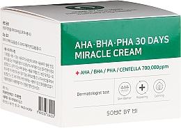 Düfte, Parfümerie und Kosmetik Gesichtscreme mit AHA-, BHA- und PHA-Säure - Some By Mi AHA/BHA/PHA 30 Days Miracle Cream