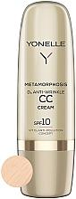 Düfte, Parfümerie und Kosmetik Anti-Falten CC Creme SPF 10 mit Vitamin D - Yonelle Metamorphosis D3 Anti Wrinkle CC Cream SPF10