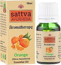 Düfte, Parfümerie und Kosmetik Ätherisches Öl Orange - Sattva Ayurveda Orange Essential Oil