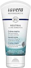 Düfte, Parfümerie und Kosmetik Natürliche Pflege für empfindliche Hände - Lavera Neutral Green Ultra Sensitive Hand Cream