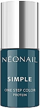 Düfte, Parfümerie und Kosmetik Gel-Nagellack - NeoNail Simple One Step Color Protein