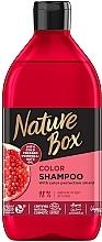 Düfte, Parfümerie und Kosmetik Kräftigendes Shampoo mit Granatapfel-Öl für langanhaltender Farbschutz - Nature Box Pomegranate Oil Shampoo