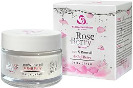 Düfte, Parfümerie und Kosmetik Tagescreme - Bulgarian Rose Rose Berry Nature Day Cream