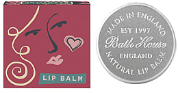 Düfte, Parfümerie und Kosmetik Handgemachter Lippenbalsam mit Pflaumengeschmack - Bath House Jucy Plum Lip Balm