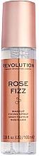 Düfte, Parfümerie und Kosmetik Make-up Fixierspray Rose Fizz - Makeup Revolution Precious Stone Rose Fizz Makeup Fixing Spray
