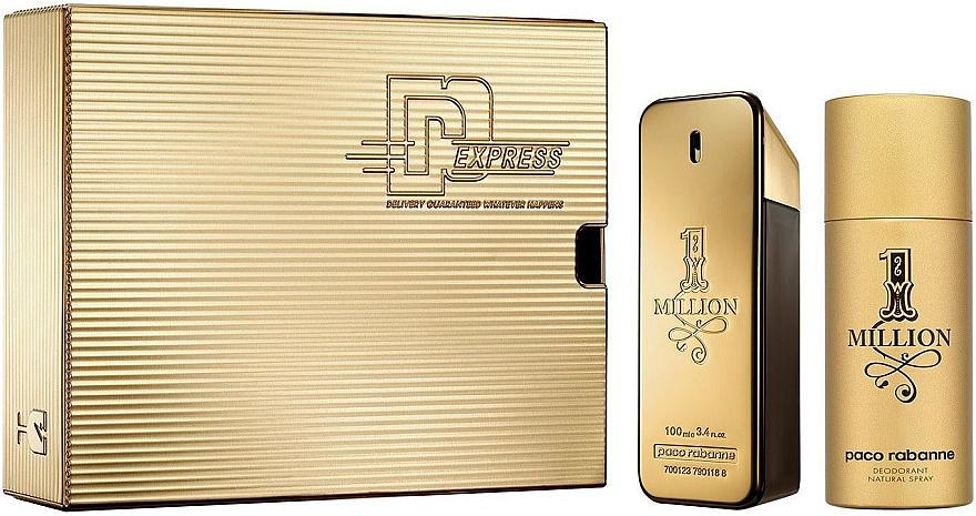 Paco Rabanne 1 Million - Duftset (Eau de Toilette 100 + Deodorant 150)