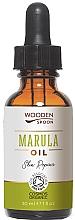 Düfte, Parfümerie und Kosmetik Regenerierendes kaltgepresstes Marulaöl - Wooden Spoon Marula Oil