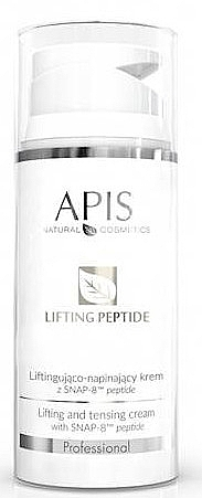 Straffende Gesichtscreme mit Peptiden - APIS Professional Lifting Peptide Lifting And Tensing Cream