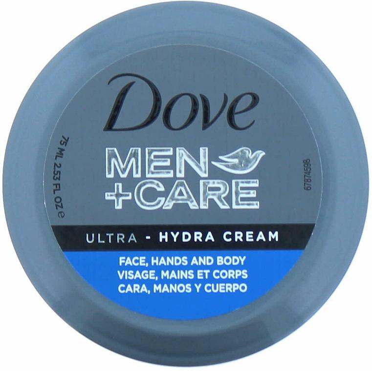 Feuchtigkeitsspendende Creme für Körper, Gesicht und Hände - Dove Men + Care Ultra Hydra Cream — Bild N1