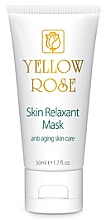 Düfte, Parfümerie und Kosmetik Relaksująca maska z efektem botoksu (tubka) - Yellow Rose Skin Relaxant Mask