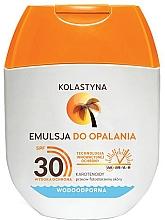 Düfte, Parfümerie und Kosmetik Wasserfeste Sonnenschutzlotion LSF 30 - Kolastyna Emulsion Waterproof SPF 30 (mini)