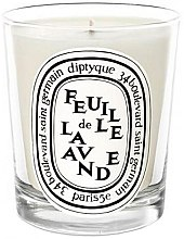 Düfte, Parfümerie und Kosmetik Duftkerze - Diptyque Feuille de Lavande Candle