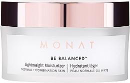 Düfte, Parfümerie und Kosmetik Lekki krem nawilżający do twarzy - Monat Be Balanced Lightweight Moisturizer