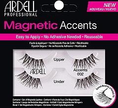 Düfte, Parfümerie und Kosmetik Künstliche Wimpern - Ardell Magnetic Lashes Accents 002